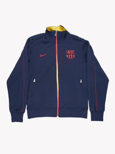 Nike Football Jacket Navy Size Medium