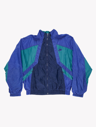 Nike 90's Jacket Blue/Green Size Small
