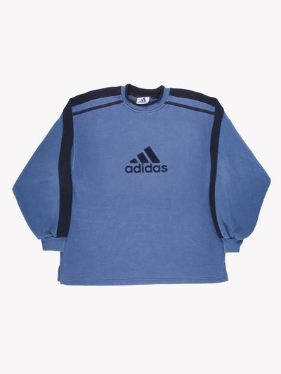 Adidas Sweatshirt Blue Size Large
