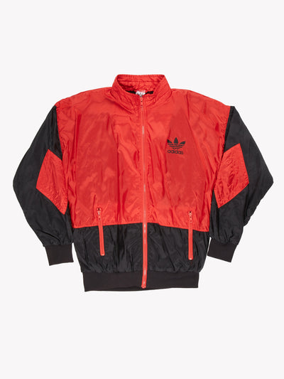 Adidas 90's Track Jacket Red/Black Size Medium