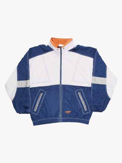 Adidas Open Track Jacket Navy/White Size XL