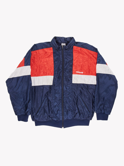 Adidas 90's Jacket Blue/Red/White Size Large