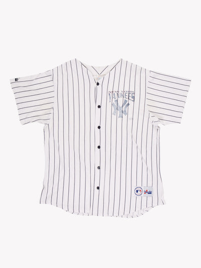 New York Yankees MLB Jersey White/Navy Size XL