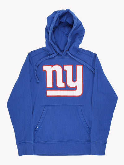 New York Giants NFL Hoodie Blue/White/Red Size Small