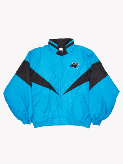 Carolina Panthers NFL Jacket Blue/Black Size XXL