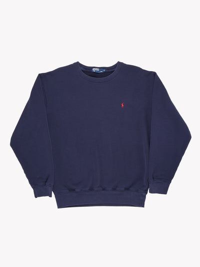 Ralph Lauren Sweatshirt Navy Size Medium
