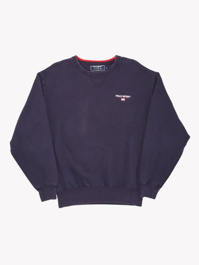 Ralph Lauren Polo Sport Sweatshirt Navy Size Medium