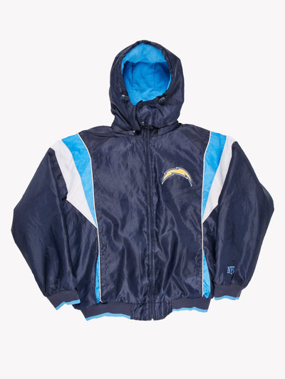 San Diego Chargers NFL Sport Jacket Blue/White Size Large