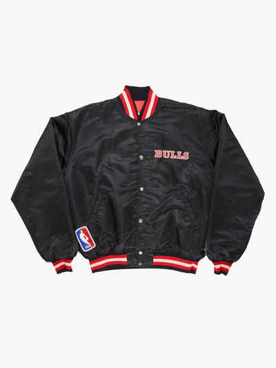 Starter Chicago Bulls NBA Jacket Black/Red Size XL