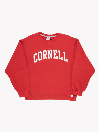Russell Athletic 'Cornell' Sweatshirt Red/White Size Medium