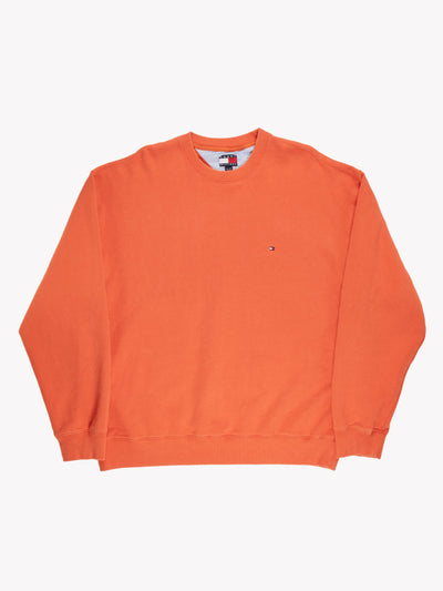 Tommy Hilfiger Sweatshirt Orange Size XXL
