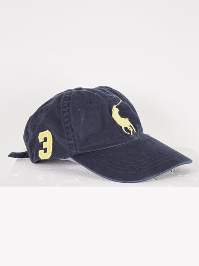 Ralph Lauren Cap Blue/Yellow One Size