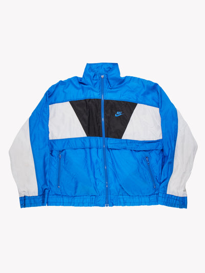 Nike 90's Track Jacket Blue/Black/White Size Large