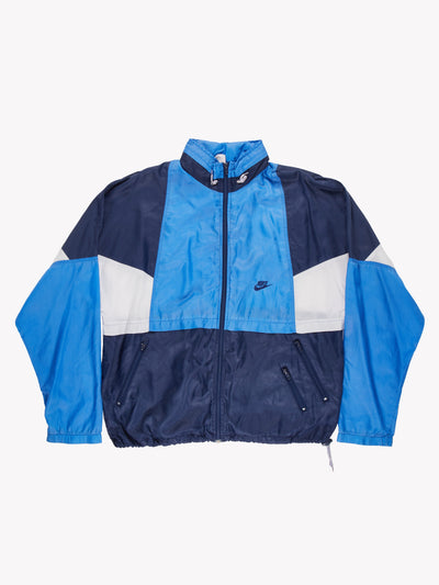 Nike 90's Track Jacket Blue/White Size XL