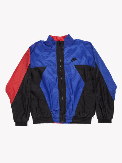 Nike 90's Track Jacket Blue/Black/Red Size XL