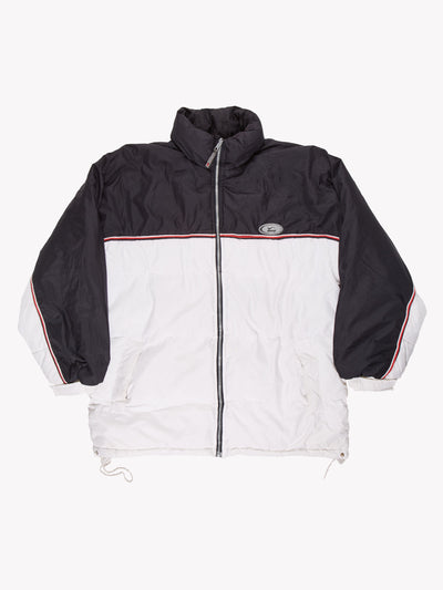 Nike Reversible Puffer Jacket White/Black/Red Size XL