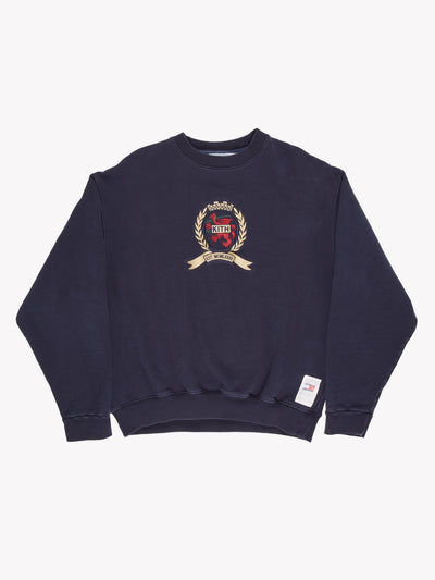 Kith x Tommy Hilfiger Sweatshirt Blue/Gold/Red Size Medium
