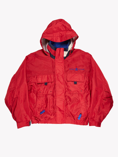 Tommy Hilfiger Jacket Red/Blue Size XL
