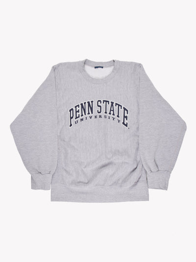 Vintage Penn State University Grey/Blue Size Medium