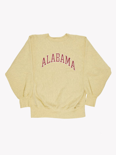 Champion Alabama Overdyed Sweatshirt Green/Red Size XL