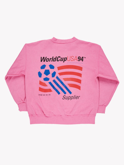 Sybase Overdyed Sweatshirt Pink/Blue Size Large - Pink / Large / Great (10008787)