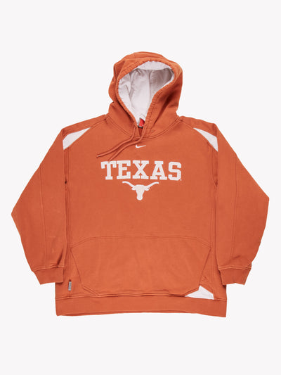 Nike 'Texas' Hoodie Orange/Cream Size XL