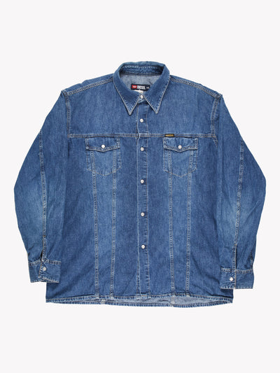 Diesel Denim Shirt Blue Size XXL