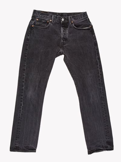 Levi's 501 Jeans Washed Black Size 32x30