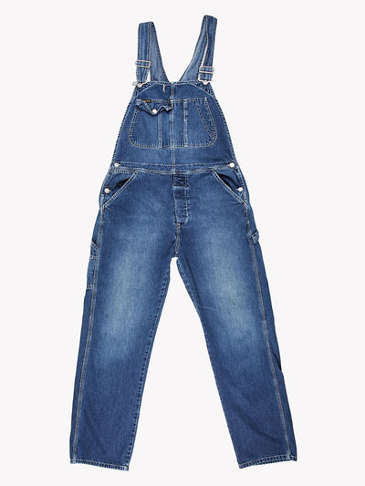 Diesel Denim Dungarees Blue Size Large