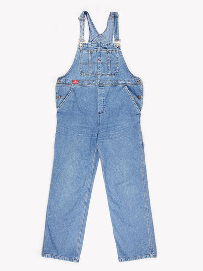 Denim Dungarees Blue Size XL