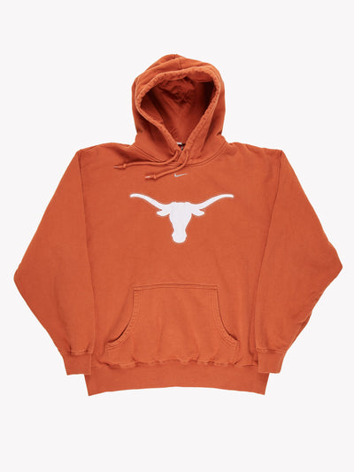 Nike Houston Texans NFL Hoodie Orange/White Size XXL
