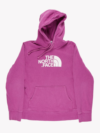 The North Face Hoodie Purple/White Size Medium