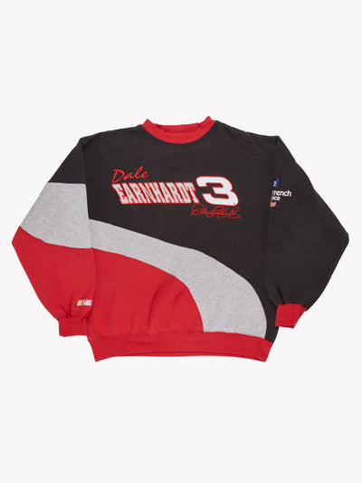 Nascar Dale Earnhardt Sweatshirt Grey/Red/Black Size XL