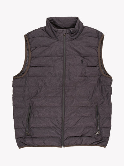 Polo Ralph Lauren Gilet Grey Size Large