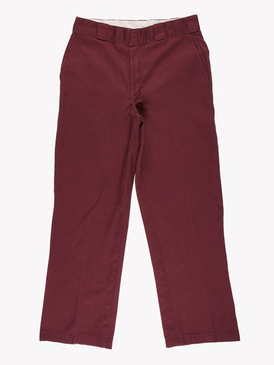 Dickies Trousers Purple Size 32x29