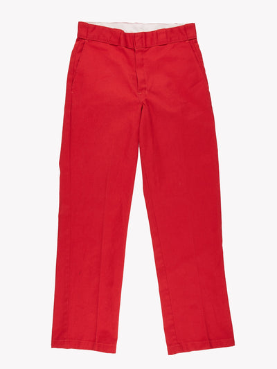 Dickies Trousers Red Size 30x31