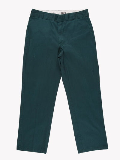 Dickies 874 Original Fit Trousers Green Size 36x30