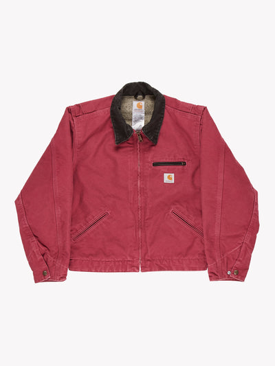 Carhartt Jacket Pink/Brown Size Small