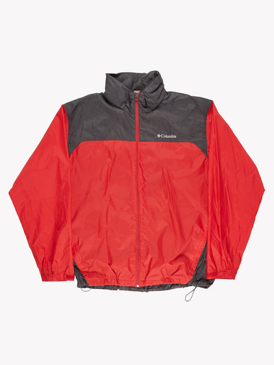 Columbia Jacket Red/Grey Size XL