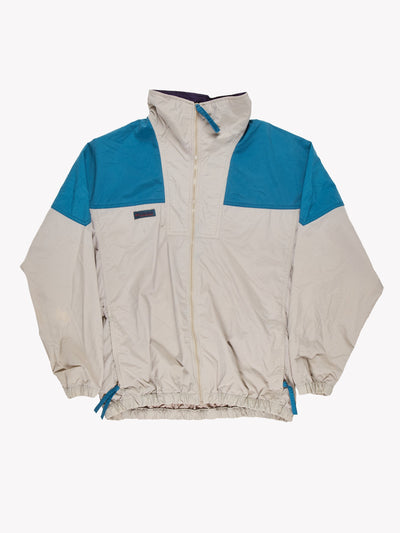 Columbia Jacket Grey/Blue/Purple Size Medium