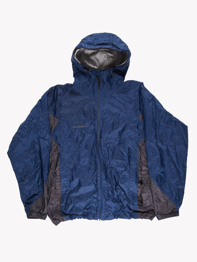 Columbia Jacket Blue/Black Size Large