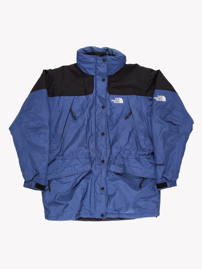 The North Face Womens HyVent Coat Blue/Black Size Large