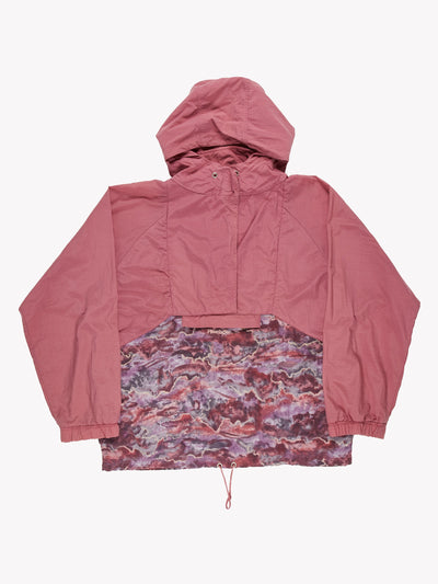 Reebok 1/4 Zip Jacket Purple/Pink Size Large