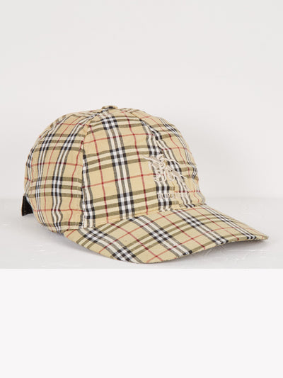 Burberry Cap Yellow/White/Black One Size