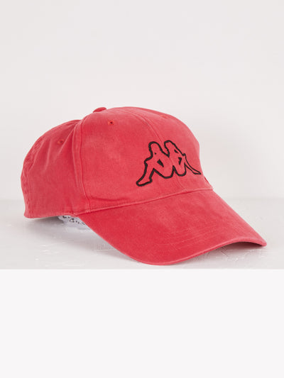 Kappa Cap Red/Black One Size