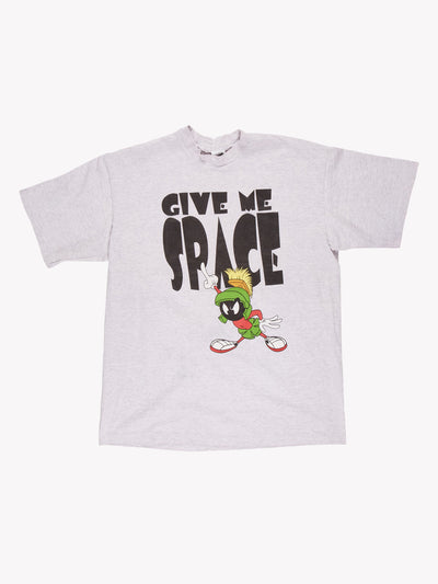 Marvin the Martian T-Shirt Grey/Black/Red Size XL
