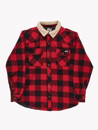 Dickies Check Jacket Red/Black Size Medium
