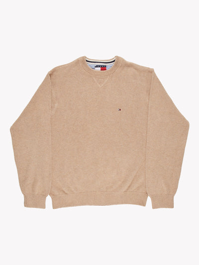 Tommy Hilfiger Knit Jumper Cream Size Medium