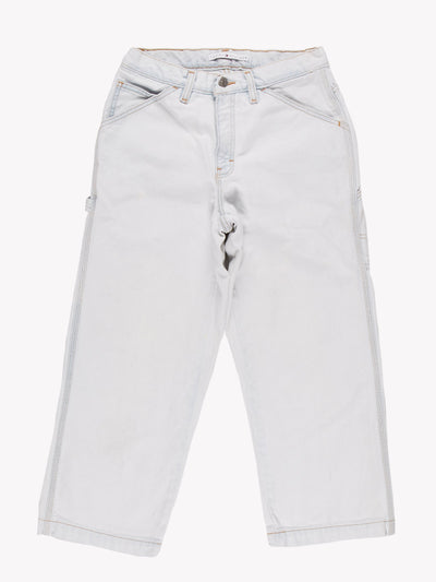 Tommy Hilfiger Carpenter Jeans Bleach Blue Size 28x24