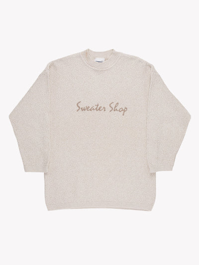 The Sweater Shop Knit Jumper Cream Size Medium